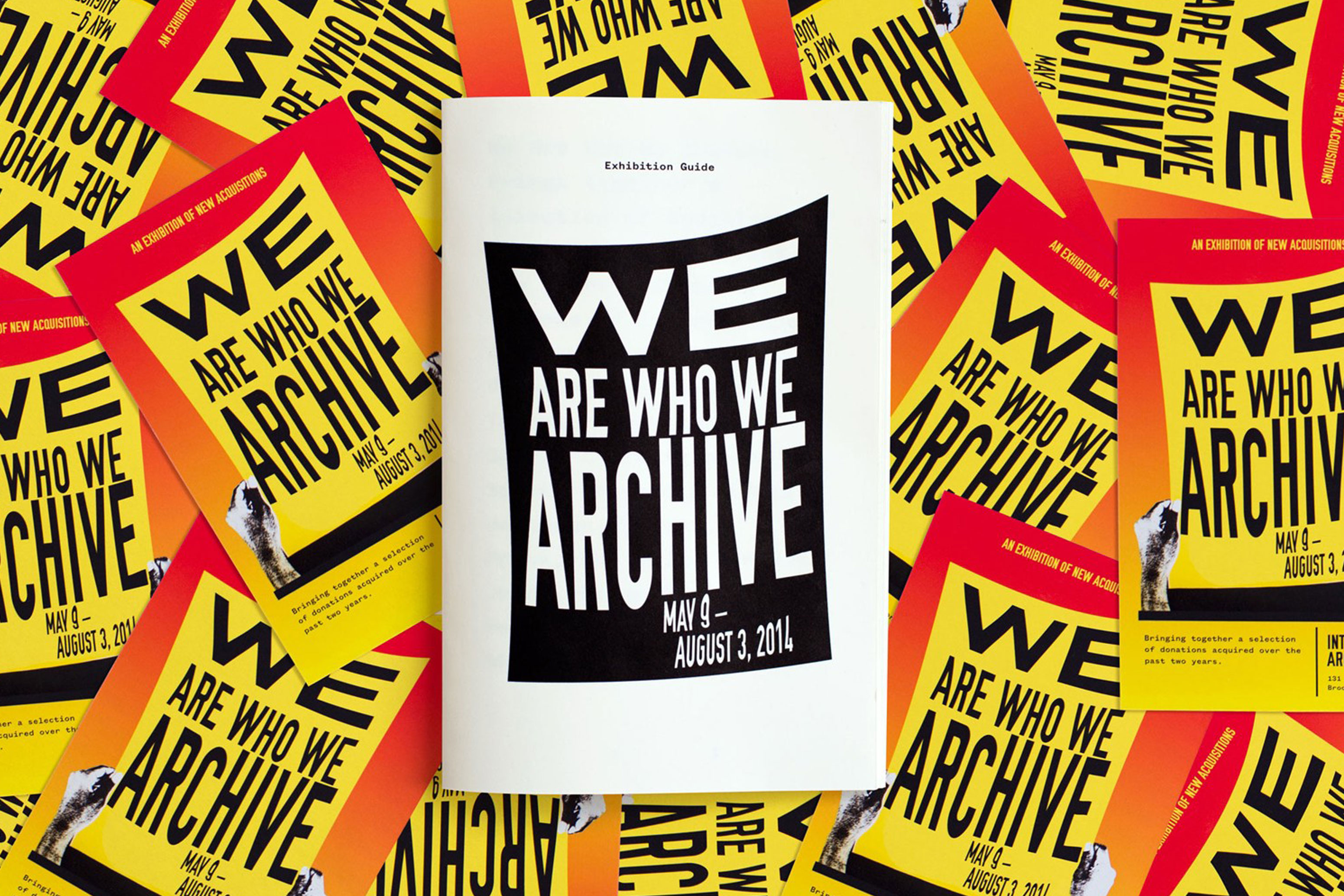 We Are Who We Are Archive Publication
