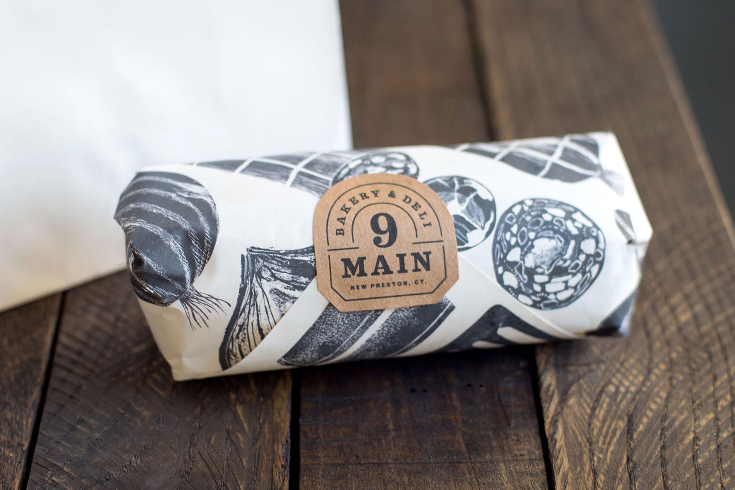Nine Main Bakery Packaging