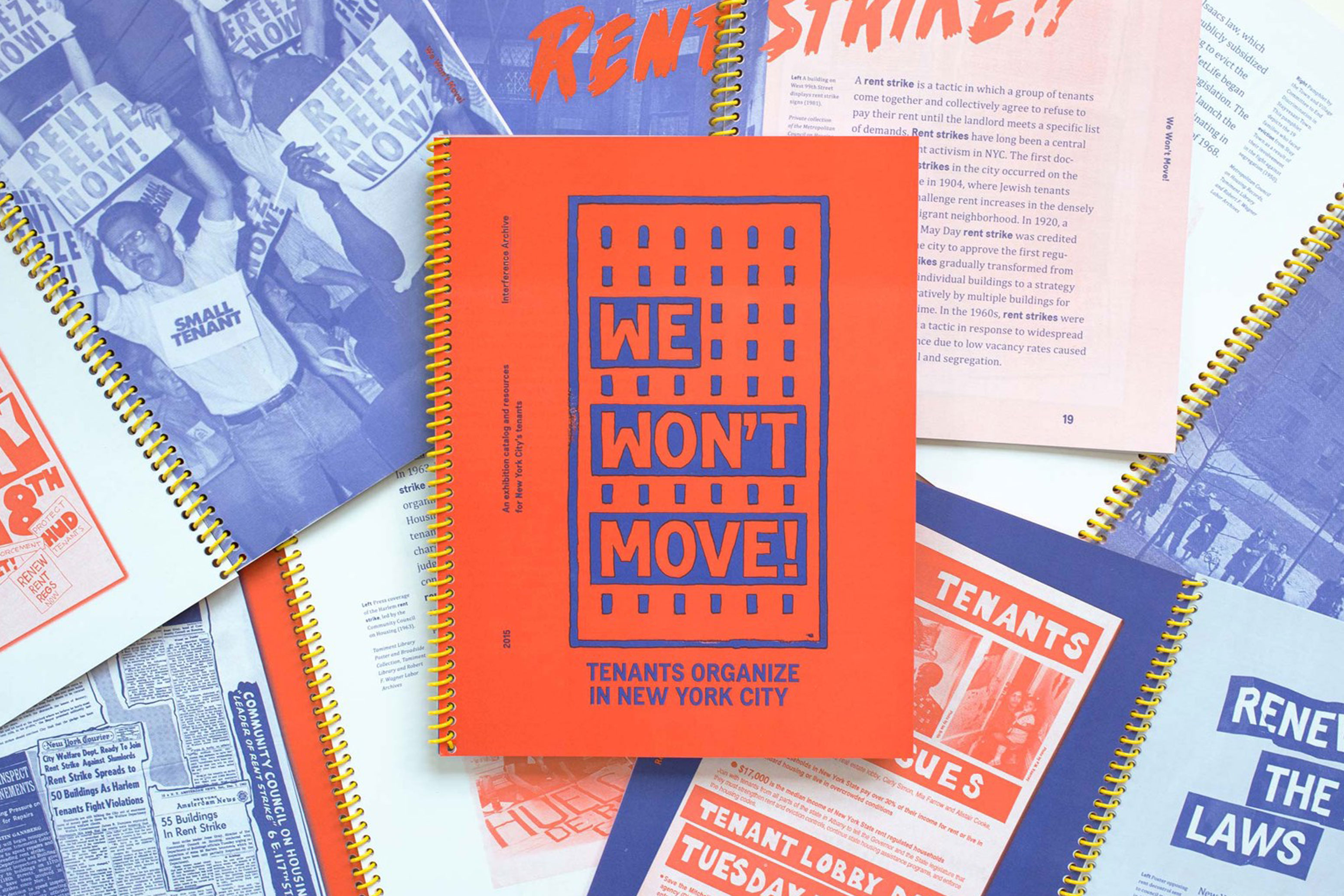 We Won't Move! Exhibition Catalogue