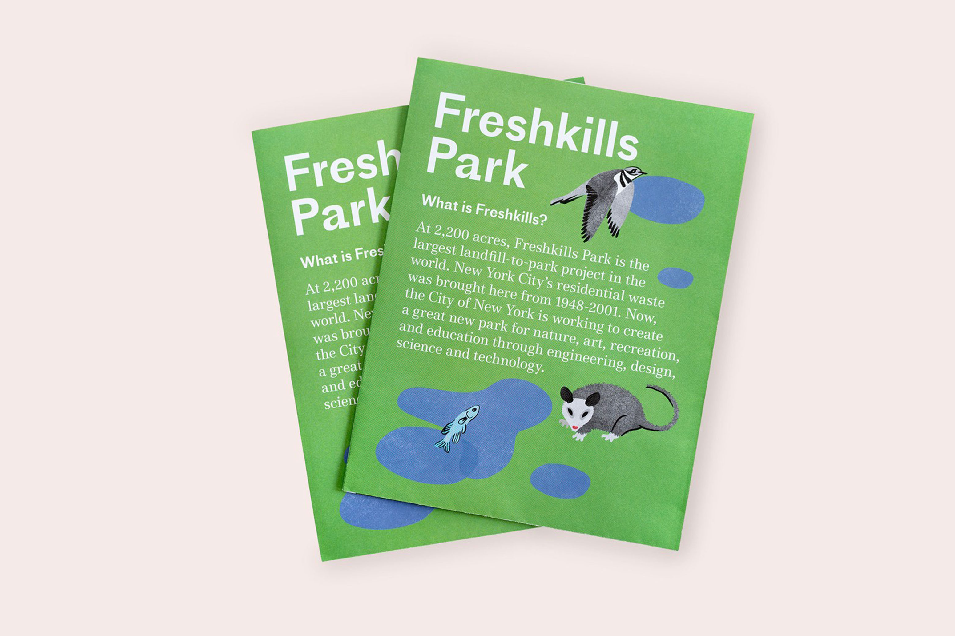 Cover of the Freshkills Park Publication