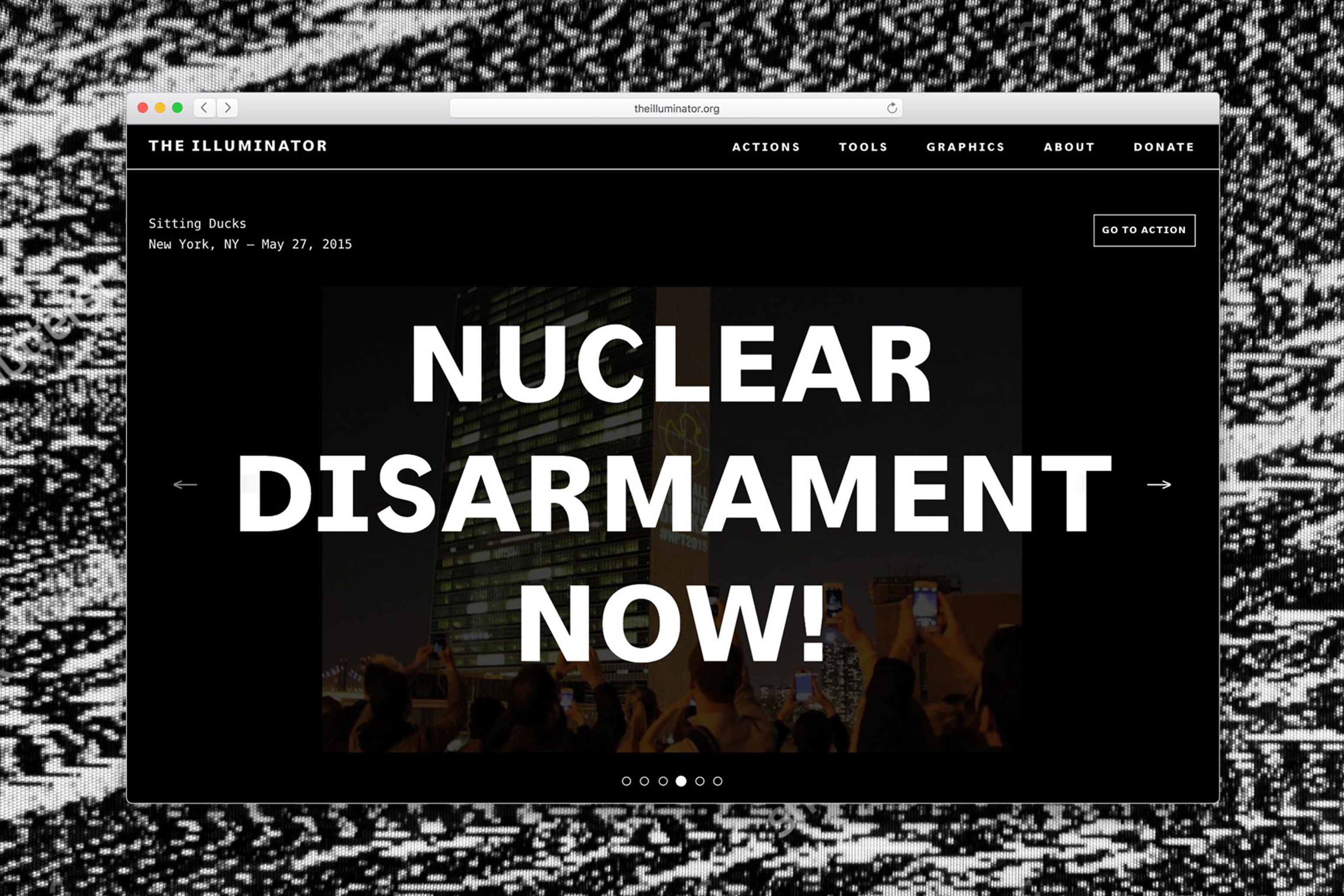 Website for The Illuminator