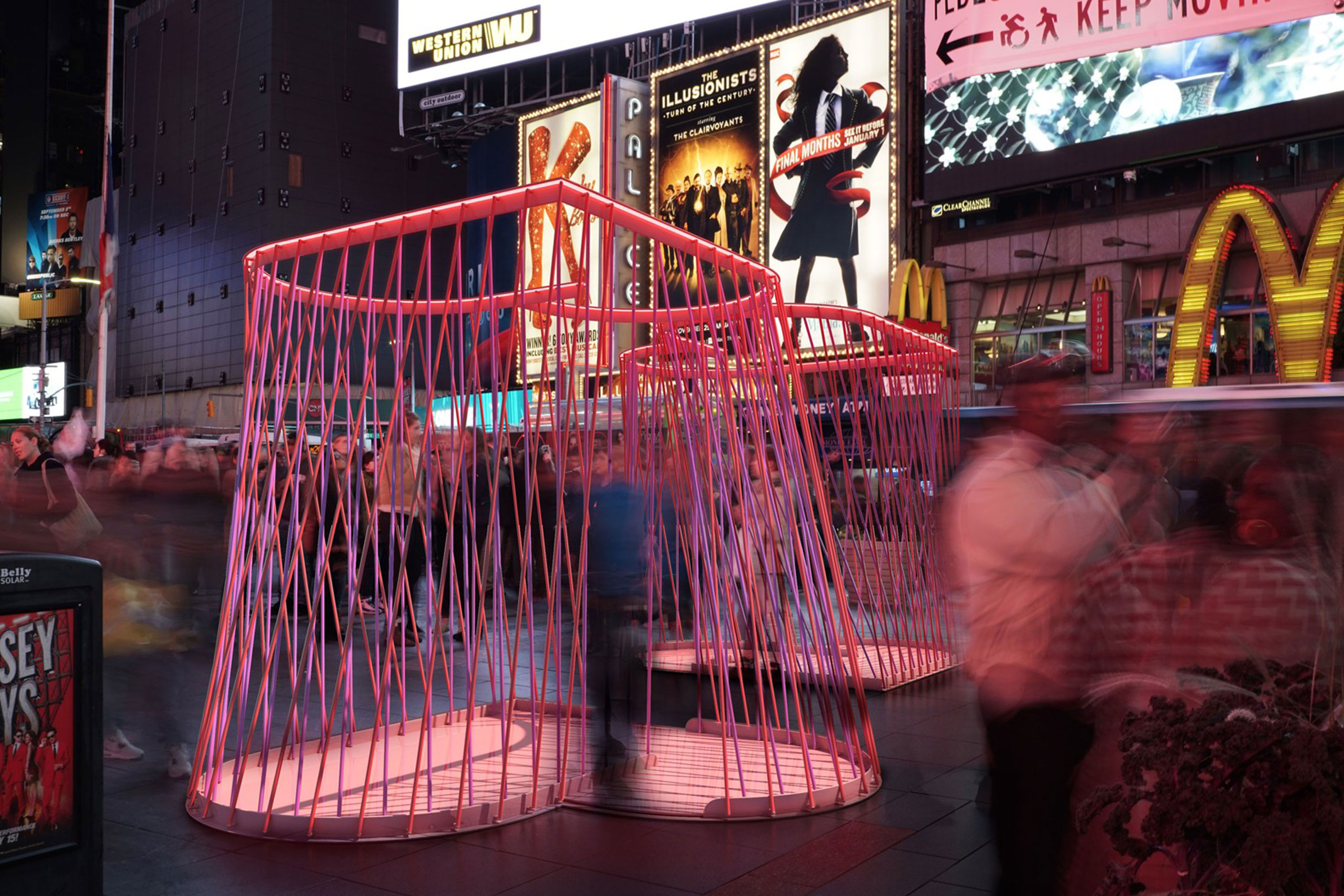 Times Square Sculpture