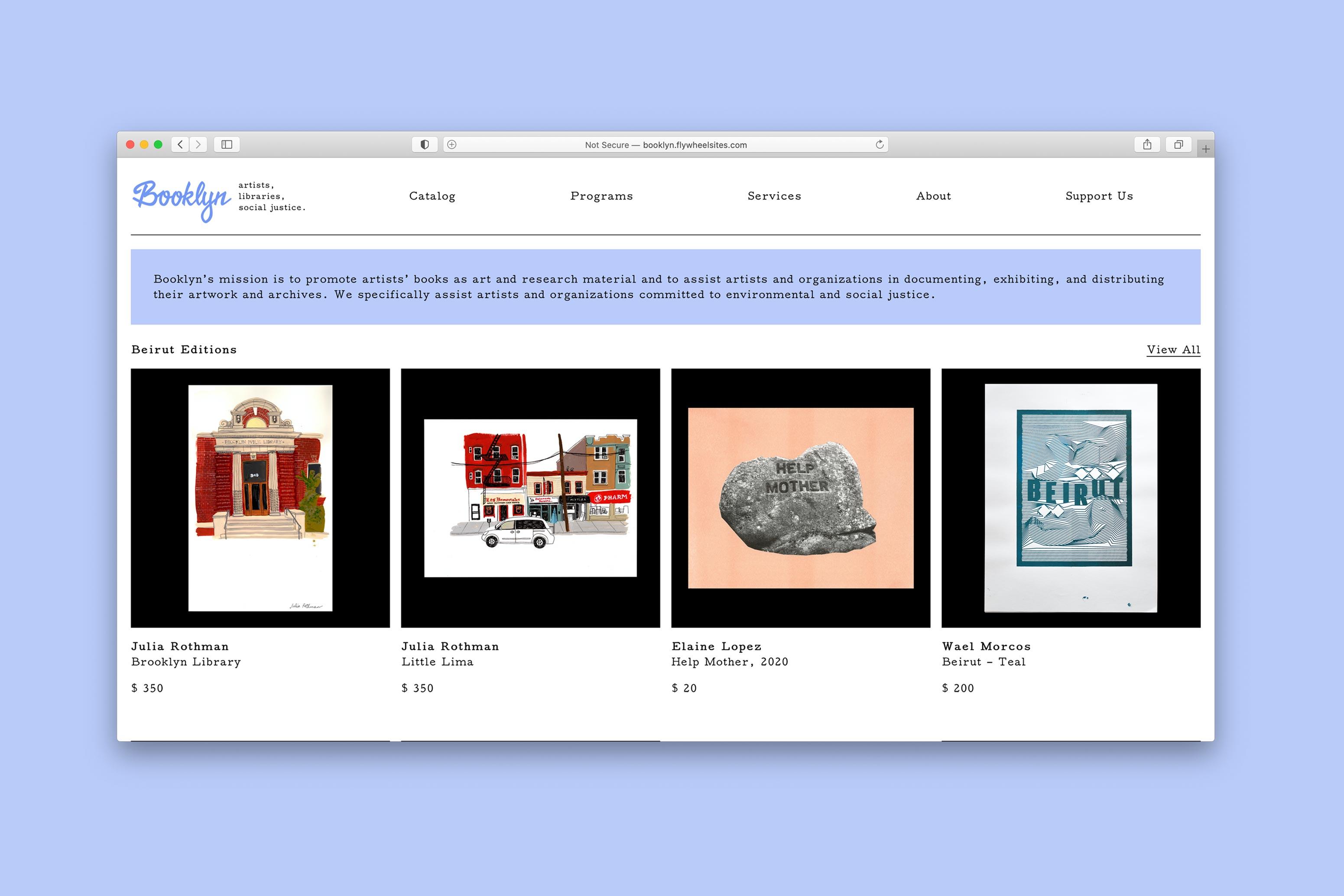 Booklyn Website
