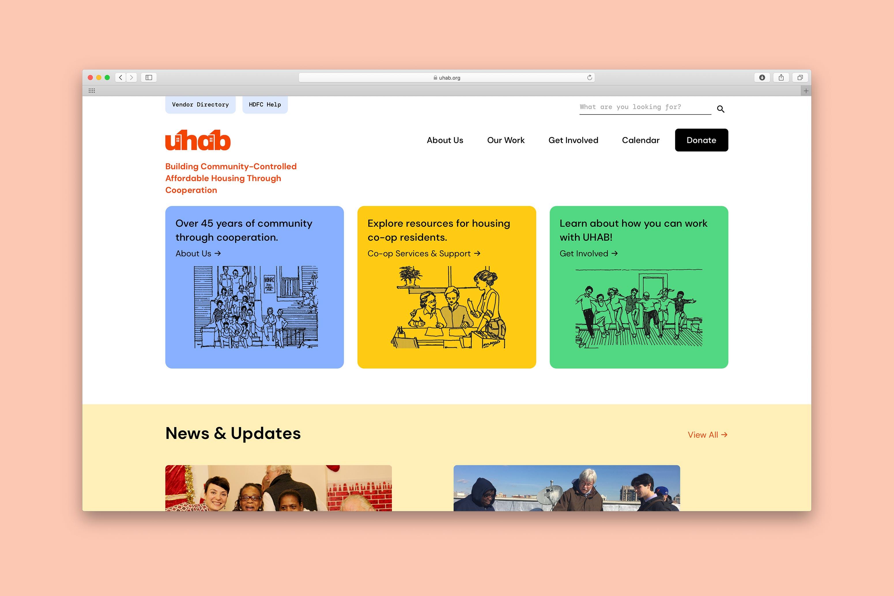 UHAB Homepage